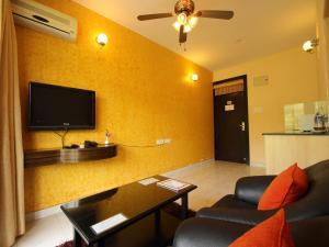 OYO 10799 Home Premium Studio Paroda, Apartmány  Sirvoi - big - 22