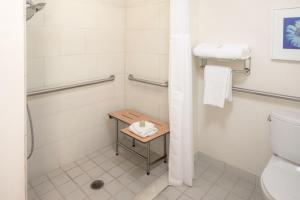 Double Room Mobility/Hearing Accessible with Roll In Shower - Non-Smoking