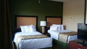 Люкс с 1 спальней и 2 двуспальными кроватями - Для некурящих