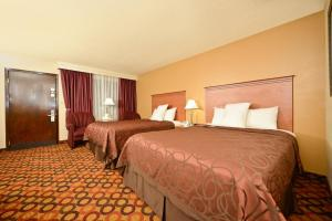 Queen Room with Two Queen Beds with Pool View - Non-Smoking