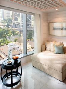 Tweepersoonskamer met 2 Aparte Bedden en Uitzicht op Statue Square