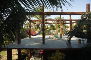 Tres Casitas, Casa Allegra, Apartments  Puerto Escondido - big - 10