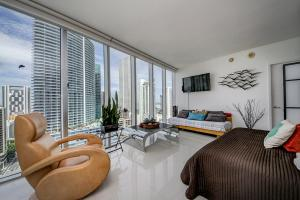3B/2B Corner Apt Ocean View 00426, Apartments  Miami - big - 4