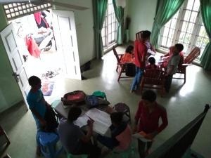 Volunteer House, Проживание в семье  Nakandalagoda - big - 4