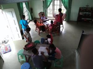 Volunteer House, Проживание в семье  Nakandalagoda - big - 11