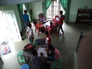 Volunteer House, Проживание в семье  Nakandalagoda - big - 13