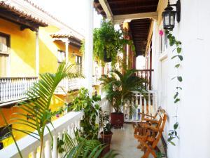 Hotel Santa Cruz, Hotel  Cartagena de Indias - big - 44