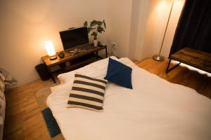 Osaka Faminect Apartment FN427, Apartmanok  Oszaka - big - 11