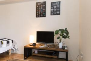 Osaka Faminect Apartment FN427, Apartmanok  Oszaka - big - 10