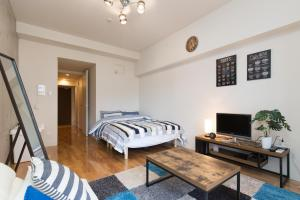 Osaka Faminect Apartment FN427, Apartmanok  Oszaka - big - 1