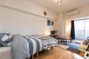 Osaka Faminect Apartment FN427, Apartmanok  Oszaka - big - 6