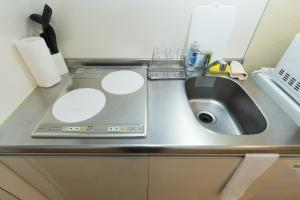 Osaka Faminect Apartment FN427, Apartmanok  Oszaka - big - 4