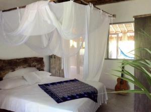 Cabana da Praia, Prázdninové domy  Caraíva - big - 7