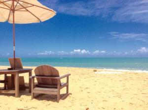 Cabana da Praia, Prázdninové domy  Caraíva - big - 9