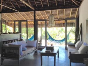 Cabana da Praia, Prázdninové domy  Caraíva - big - 10