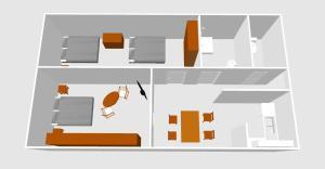 AIDA Apartman, Apartmanok  Gyula - big - 14