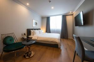 Brown-Dot Hotel Guseo, Hotely  Pusan - big - 13