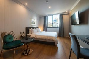 Brown-Dot Hotel Guseo, Hotely  Pusan - big - 16