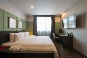 Brown-Dot Hotel Guseo, Hotely  Pusan - big - 28