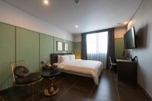 Brown-Dot Hotel Guseo, Hotely  Pusan - big - 30