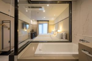 Brown-Dot Hotel Guseo, Hotely  Pusan - big - 37