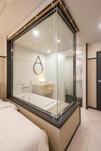 Brown-Dot Hotel Guseo, Hotely  Pusan - big - 39