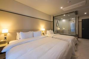 Brown-Dot Hotel Guseo, Hotely  Pusan - big - 42