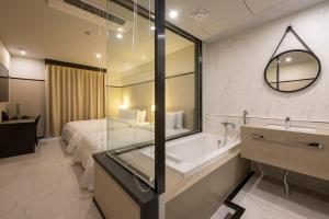 Brown-Dot Hotel Guseo, Hotely  Pusan - big - 52