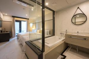 Brown-Dot Hotel Guseo, Hotely  Pusan - big - 54