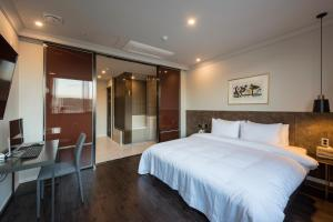Brown-Dot Hotel Guseo, Hotely  Pusan - big - 55