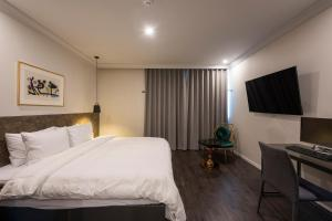 Brown-Dot Hotel Guseo, Hotely  Pusan - big - 60