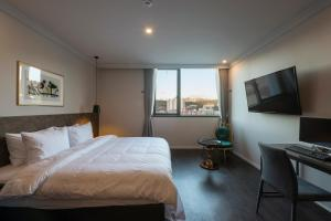 Brown-Dot Hotel Guseo, Hotely  Pusan - big - 62