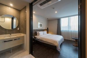 Brown-Dot Hotel Guseo, Hotely  Pusan - big - 64