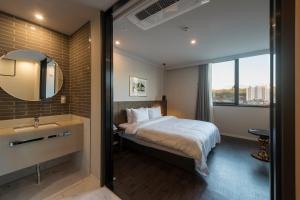 Brown-Dot Hotel Guseo, Hotely  Pusan - big - 65