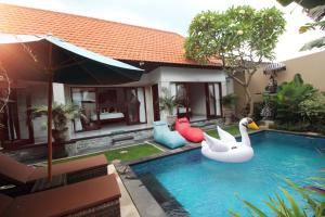 The Green Kamboja Villa, Villas  Sanur - big - 40