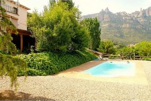 Villa Pla Els Bacus, Villas  Monistrol - big - 44