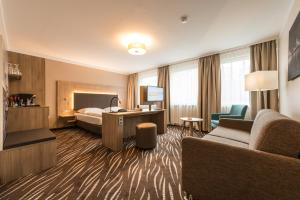 Jednolůžkový pokoj typu Premium
