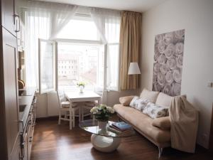 La Rose Blanche, Apartmány  Praha - big - 6