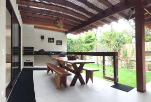 Itamambuca - Paula e Daniel, Holiday homes  Ubatuba - big - 20