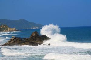 Edf. El Penon del Rodadero, Ferienwohnungen  Santa Marta - big - 43