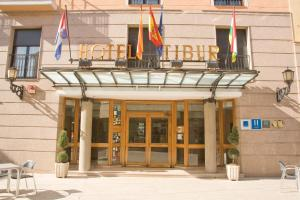 Hotel Tibur, Hotels  Saragossa - big - 49