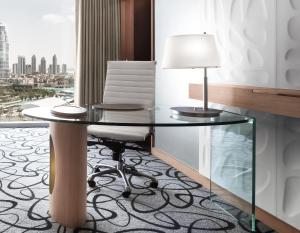 Junior Suite with King Bed and Burj Khalifa View (3 Adults)