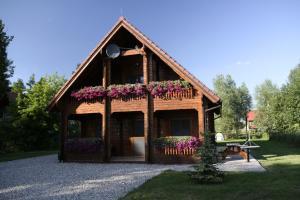 Chata Lakeside Cottage Sajzy Polsko