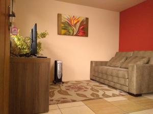 Apartamento próximo ao Centro de Gramado - Charmoso, Апартаменты  Грамаду - big - 6