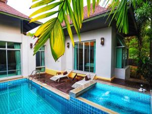 AnB pool villa (Red) with 2BR close to Jomtien beach