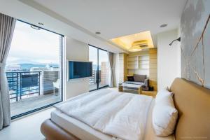 CK Serviced Residence, Апартаменты  Тайбэй - big - 55