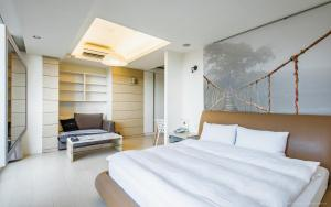 CK Serviced Residence, Апартаменты  Тайбэй - big - 56