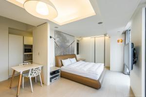 CK Serviced Residence, Апартаменты  Тайбэй - big - 57