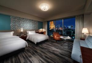 Deluxe Twin Room with Tokyo Tower View - Non-Smoking