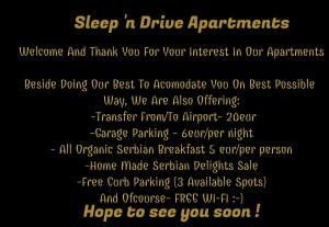 Apartment Sleep'n Drive, Ferienwohnungen  Belgrad - big - 45